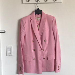 Michael Kors NEW pink blazer w/ tags!